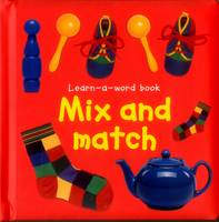 Learn-a-Word Book Mix and Match by Nicola Tuxworth