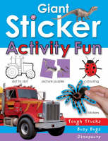 Giant Sticker Activity Book for Boys by