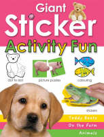 Giant Sticker Activity Book for Girls by