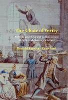 The Chair of Verity Political preaching and pulpit censure in eighteenth-century Scotland by Ronald Lyndsay Crawford