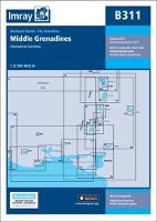 Imray Chart B311 Middle Grenadines by Imray