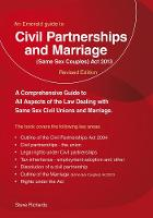 Civil Partnerships And (same Sex) Marriage by Steve Richards