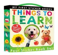 My First Sticker Books: Things to Learn by Libby Walden, Patricia Hegarty