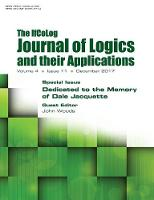 Ifcolog Journal of Logics and Their Applications Volume 4, Number 11. Dedicated to the Memory of Dale Jacquette by John Woods