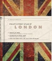 Philip's Street Atlas of London De Luxe Edition Union Jack by