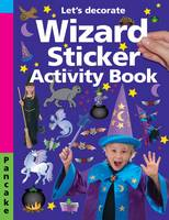 Wizard Sticker Activity Pancake Let's Decorate by Roger Priddy