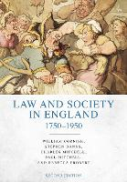 Law and Society in England 1750-1950 by Rebecca Probert, Steve Banks, Charles Mitchell, William Cornish