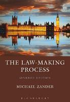 The Law-Making Process by Professor Michael, QC Zander
