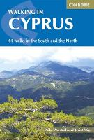 Walking in Cyprus 44 walks in the South and the North by Nike Werstroh, Jacint Mig