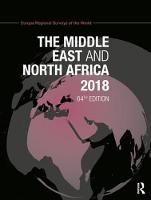 The Middle East and North Africa 2018 by Europa Publications