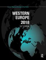 Western Europe 2018 by Europa Publications