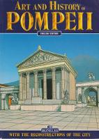 Art and History of Pompeii by Monica Bonechi
