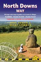North Downs Way (Trailblazer British Walking Guides) 80 Large-Scale Walking Maps & Guides to 45 Towns & Villages - Planning, Places to Stay, Places to Eat - Farnham to Dover via Canterbury (Trailblaze by