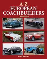 A-Z of European Coachbuilders by James Taylor