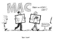 Mac Seen and Unseen 2017 Cartoons from the Daily Mail by Stanley McMurtry