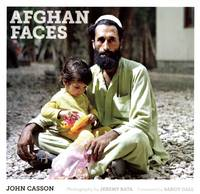 Afghan Faces by John Casson, Sandy Gall