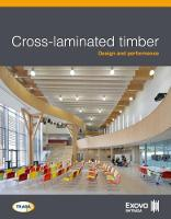 Cross-laminated timber: Design and performance by Exova BM TRADA