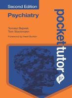 Pocket Tutor Psychiatry by Tomasz Bajorek