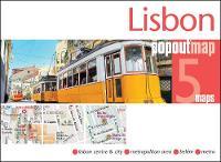 Lisbon PopOut Map by PopOut Maps