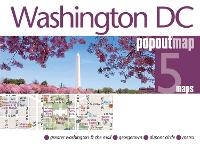 Washington DC PopOut Map by PopOut Maps