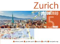 Zurich PopOut Map by PopOut Maps