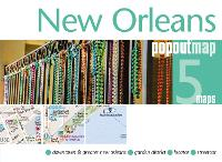 New Orleans PopOut Map by PopOut Maps