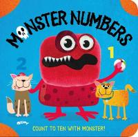 Monster Numbers Finger Puppet Book by Adam Bestwick