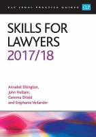 Skills for Lawyers 2017/2018 by Annabel Elkington, John Holtam, Gemma Shield