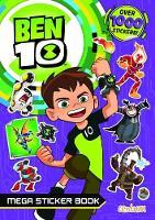 Ben 10 Mega Sticker Book by Centum Books Ltd