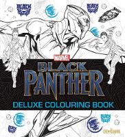 Black Panther - Deluxe Colouring Book by Centum Books Ltd