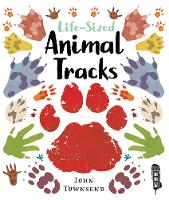 Life-Sized Animal Tracks by John Townsend