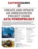 Create and Update an Unresourced Project Using Asta Powerproject 2-Day Training Course Handout and Student Workshops by Paul E Harris