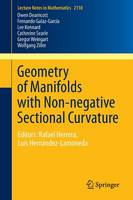 Geometry of Manifolds with Non-negative Sectional Curvature Editors: Rafael Herrera, Luis Hernandez-Lamoneda by Owen Dearricott, Fernando Galaz-Garcia, Lee Kennard, Catherine Searle