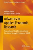 Advances in Applied Economic Research Proceedings of the 2016 International Conference on Applied Economics (ICOAE) by Nicholas Tsounis