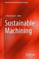 Sustainable Machining by J. Paulo Davim