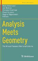 Analysis Meets Geometry The Mikael Passare Memorial Volume by Mats Andersson