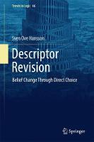 Descriptor Revision Belief Change through Direct Choice by Sven Ove Hansson