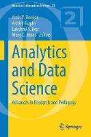 Analytics and Data Science Advances in Research and Pedagogy by Ashish Gupta