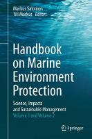 Handbook on Marine Environment Protection Science, Impacts and Sustainable Management by Till Markus