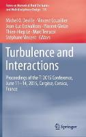 Turbulence and Interactions Proceedings of the TI 2015 Conference, June 11-14, 2015, Cargese, Corsica, France by Michel O. Deville