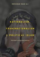 Nationalism, Transnationalism, and Political Islam Hizbullah's Institutional Identity by Mohanad Ali