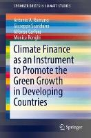 Climate Finance as an Instrument to Promote the Green Growth in Developing Countries by Giuseppe Scandurra, Antonio Romano, Alfonso Carfora, Monica Ronghi