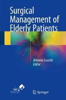 Surgical Management of Elderly Patients by Antonio Crucitti