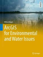 ArcGIS for Environmental and Water Issues by William Bajjali