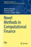 Novel Methods in Computational Finance by Matthias Ehrhardt