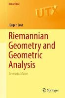 Riemannian Geometry and Geometric Analysis by Jurgen Jost