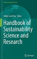 Handbook of Sustainability Science and Research by Walter Leal Filho