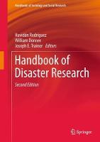 Handbook of Disaster Research by Havidan Rodriguez