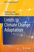 Limits to Climate Change Adaptation by Walter Leal Filho