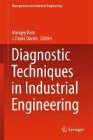 Diagnostic Techniques in Industrial Engineering by Mangey Ram